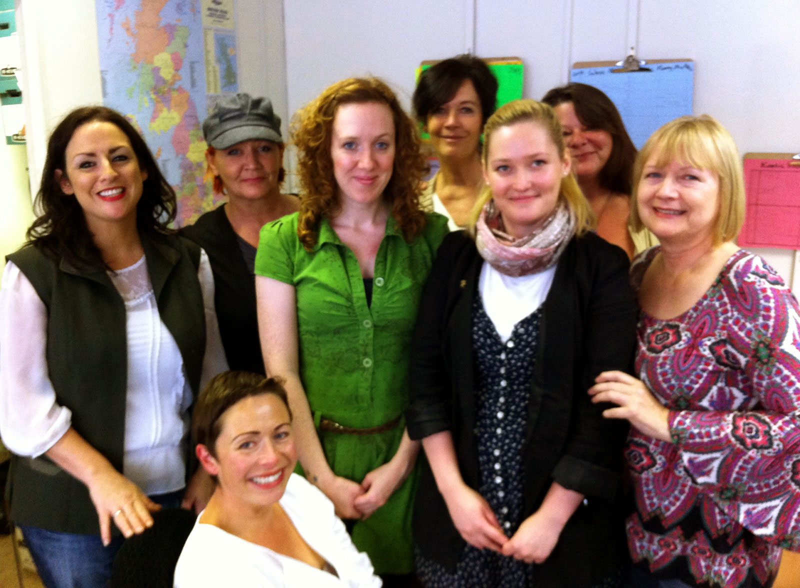 Theatre for Schools team group photo